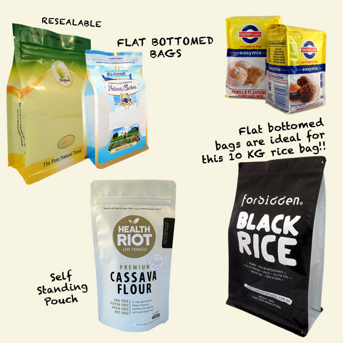 Cereals & Grains Packaging